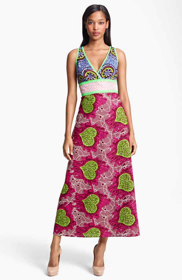 Moschino Cheap & Chic Floral Print Dress