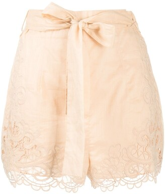 Zimmermann Lulu scallop shorts
