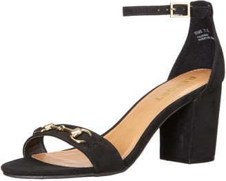Report Women's Palomina Dress Sandal Black 7.5 M US