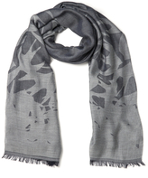 McQ by Alexander McQueen Women's Swallow Scarf Navy/Light Grey