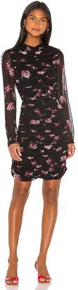 Nicholas Gathered Mini Dress