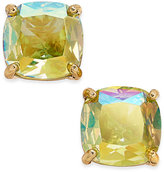 Kate Spade Gold-Tone Iridescent Crystal Stud Earrings