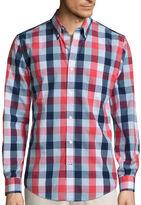 ST. JOHN'S BAY St. John'S Bay Legacy Button-Front Shirt