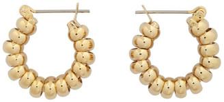 Laura Lombardi Gold Mini Camilla Earrings