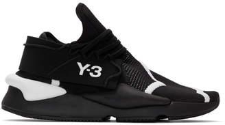 Y-3 Y 3 Black Kaiwa Knit Sneakers