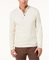 Tasso Elba Men's Mock Neck Sweater, Created for Macy's