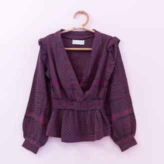 Rough Studios - Kimono Shirt - maroon | M . - Maroon