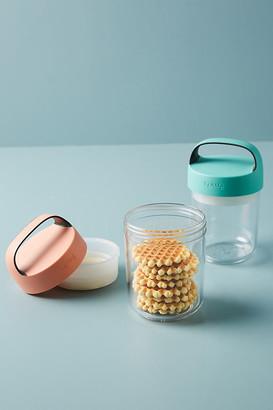 Lekue 14 oz. Jar To Go By in Blue Size XS