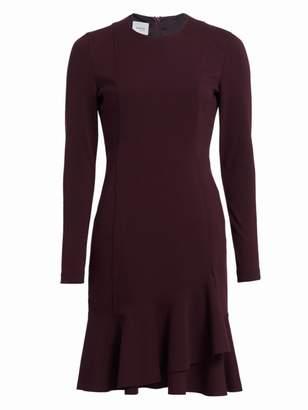 Akris Punto Ruffle Hem Jersey Dress