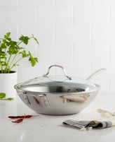 "Calphalon Tri-Ply Stainless Steel 12"" Covered Stir Fry"