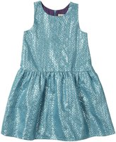 Pink Chicken Lavalle Dress (Toddler/Kid) - Turquoise-3 Years
