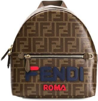 Fendi FF print mini backpack
