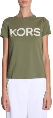Michael Kors Michael By michael by t-shirt with logo and studs
