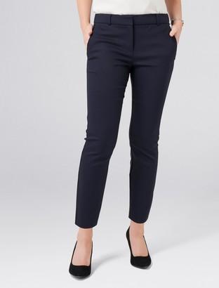 Forever New Mindy Petite 7/8 Slim Pants - Navy - 4