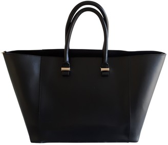 Victoria Beckham Liberty Black Leather Handbags