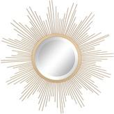Stonebriar Collection Gold Starburst Hanging Mirror
