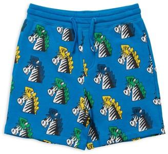 Stella Mccartney Kids Cotton Zebra Shorts (2-12 Years)