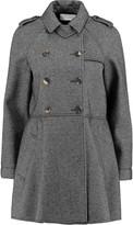 RED Valentino Herringbone tweed coat