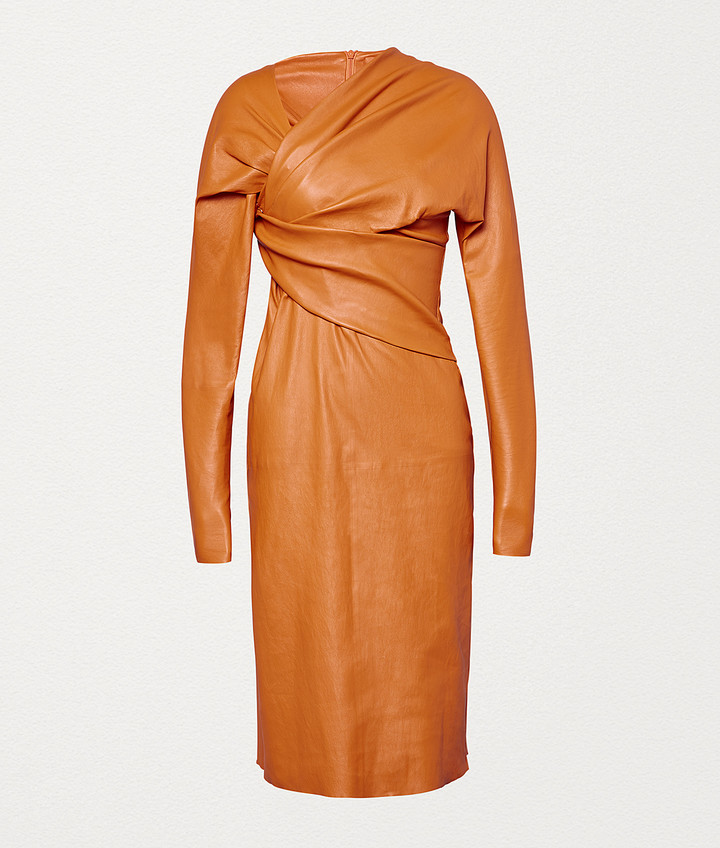 Bottega Veneta DRESS IN STRETCH PLONGE