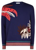 Valentino Palm Tree Cashmere Jumper