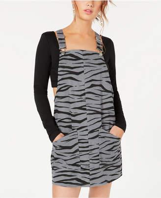 Material Girl Juniors' Printed Jumper Dress