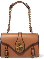 Bottega Veneta The City Knot Leather Shoulder Bag - Tan
