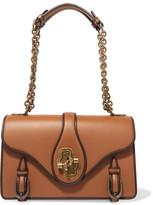 Bottega Veneta The City Knot Leather Shoulder Bag - Tan
