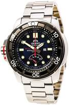 Orient EL06001D Men's M-Force Beast Dial Stainless Steel Power Reserve Automatic Watch