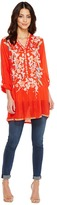 Johnny Was Nikki Tunic Women's Blouse