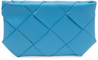 Bottega Veneta Leather Intrecciato Pouch
