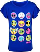 a2z4kids Kids Girls T Shirt Emoji Print Stylish Trendy Fashion Top New Age 7-13 Years