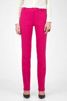 Pink Razor Skinny Wool Trousers