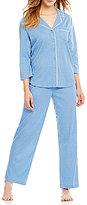 Karen Neuburger Dotted Interlock Pajamas