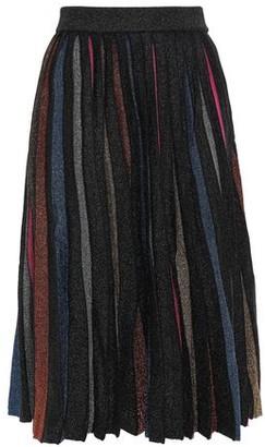 Dodo Bar Or Pleated Merino Wool Midi Skirt