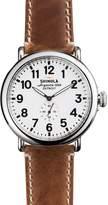 Shinola The Runwell Brown Strap Watch, 47mm