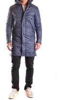 Daniele Alessandrini Men's Blue Polyester Outerwear Jacket.