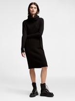DKNY Pure Merino Cowl Neck Dress
