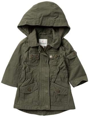 Urban Republic Cotton Twill Anorak Jacket (Baby Girls)