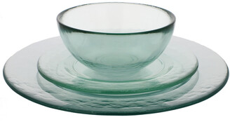 French Home Recycled Glass Urban Dinner Set