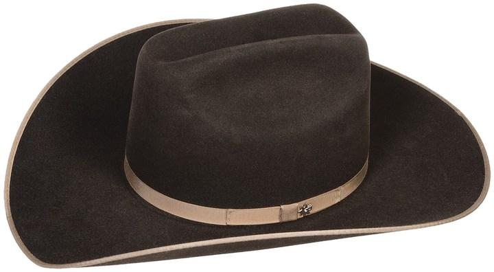 Carter's Bailey Carter Cowboy Hat - 6X Felt, Cattleman Crown (For Men and Women)