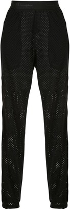 Rick Owens Mesh Track Pants