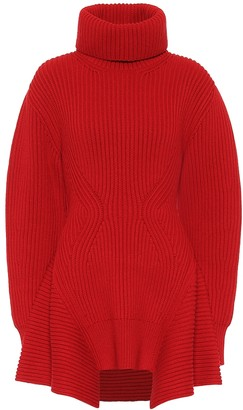 Alexander McQueen Wool and cashmere turtleneck sweater