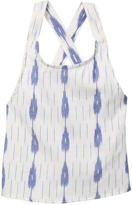 Azul Swimwear Ikat Criss-Cross Top