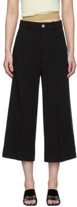 Gucci Black Culotte Trousers