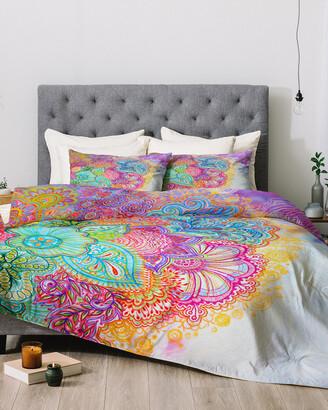 Deny Designs Stephanie Corfee Bright Floral Comforter Set