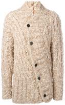 Ann Demeulemeester button up knitted cardigan