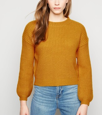 New Look Sunshine Soul Chunky Knit Jumper