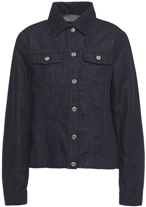 7 For All Mankind Pleated Denim Jacket