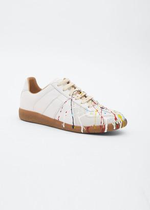 Maison Margiela Replica Paint-Splatter Sneakers