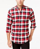 John Ashford Men's Long-Sleeve Flannel Shirt, Only at Macy's